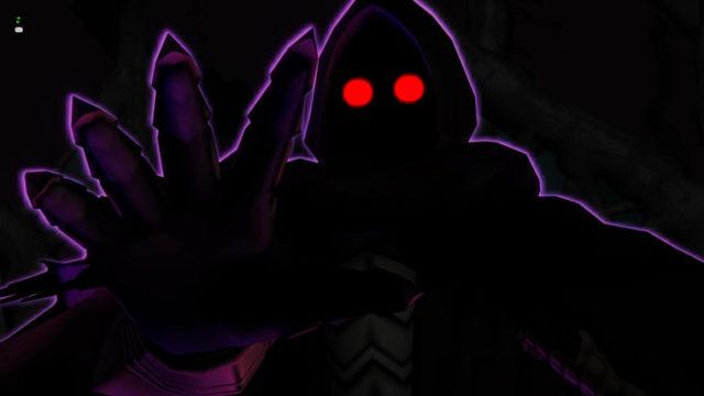 闇の根源の幻影