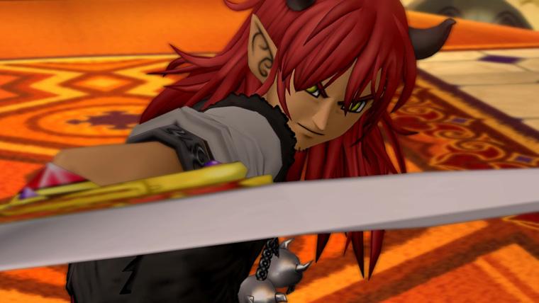 魔剣アストロンを手に入れたユシュカ