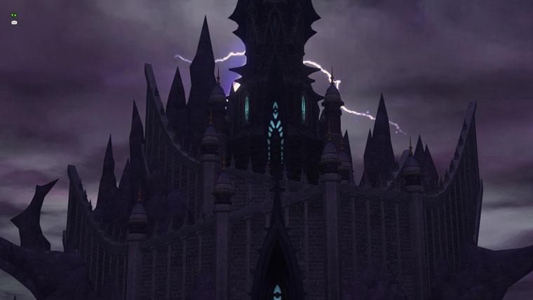 怪しげな城